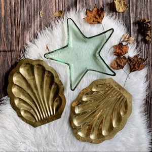 3-Piece Nautical Beach House Starfish Shell Decor